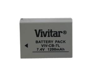 Bateria Recarregável VIvitar Equivalente A Canon Modelo Nb7l - Vivcb7l