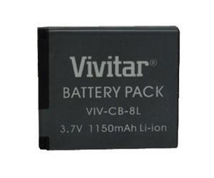 Bateria Recarregável Vivitar Original Nb8l Vivcb8l