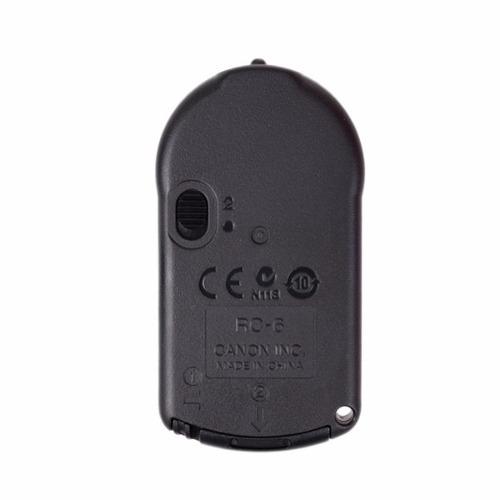 Controle Remoto Canon Para Disparo Sem Fio De Câmeras Canon - RC6