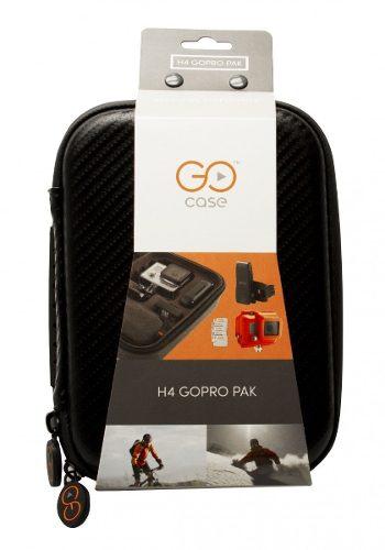 Estojo Compacto GoCase Para Câmera GoPro Mais Suporte Acessórios - H4-PAK