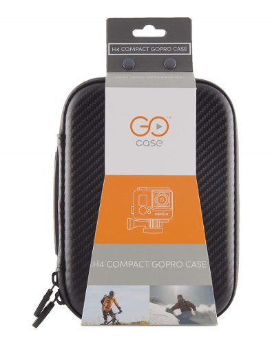 Estojo Case GoCase Para GoPro HD Hero Original A Hero 4 E Acessorios - H4COMPACT