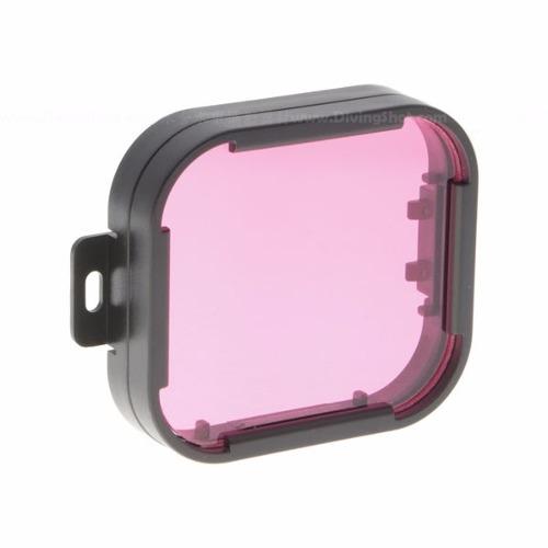 Filtro PolarPro Magenta 2.0 De Mergulho Para Câmera GoPro Hero 4, Hero 3+ E Hero 3 - P1010