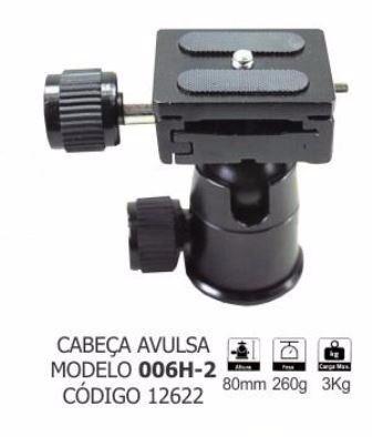 Cabeça Niveladora Ball Head - 006H-2