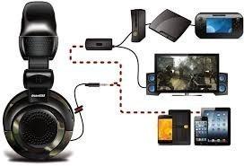 Headset Dreamgear Para Para Xbox 360, Xbox One< PS3, PS4 Wii U PC Master Race - DGUN-2574 Elite