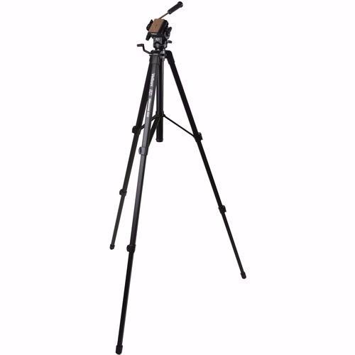 Tripé Velbon Videomate 638 Original Suporta Câmera Até 4kg - Velbon 638