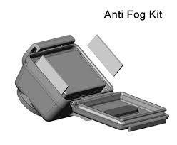 Kit Com 12 Unidades De Pastilha Anti-Embaçante Para GoPro Anti Fog  - AHDAF-301