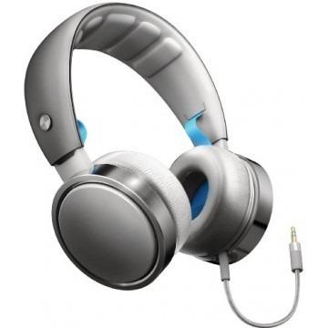 Fone De Ouvido Philips Em Alumínio Com Alça Flexível E Microfone - SHO7205