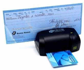 Leitor De Smartcards Boletos E Cheques Nonus - Smarthome 10