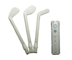 Kit 3 Acessórios De Golf Para Nintendo Wii Maximo WII-222