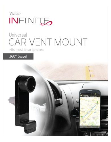 Suporte Veicular Vivitar Para Smartphone Com Encaixe Na Saída De Ar - VIV-CRD101