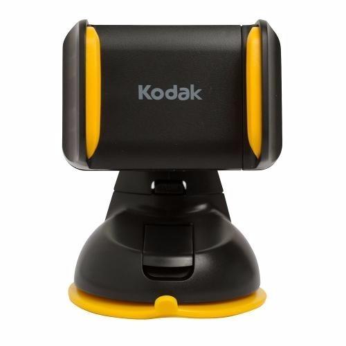 Suporte Veicular Kodak 2 Em 1 Para Smartphone Com Encaixe Na Ventosa Ou Saída De Ar - Sp-112
