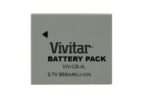 Bateria Recarregável Vivitar Equivalente A Canon Modelo - NB4L VIVCB4L