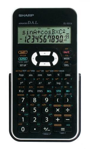 Calculadora Cientifica Profissional Sharp - EL531XBWH