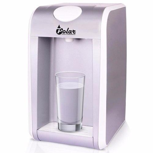 Purificador Filtro De Água Polar Cristallo Prata - Wp200a