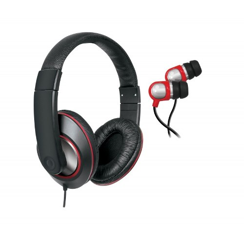 Kit iSound Headphone Dj E Earphone Para iPad iPhone iPod Smartphones E MP3 Players - DGHP4004