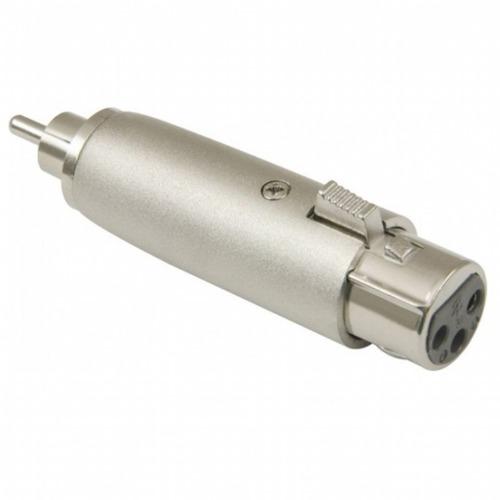 Adaptador Plug Rca X Plug Cannon