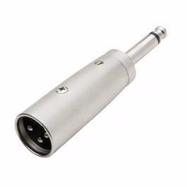 Plug Adaptador P10 Macho Mono Para - Plug Canon Fêmea