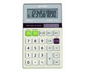 Calculadora Sharp 10 Digitos - El377tb