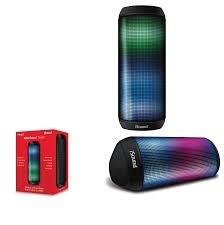 Mini Torre De Som Portatil Sem Fio iSound NFC MIC LED AUX E IPX4 - iSound-6703
