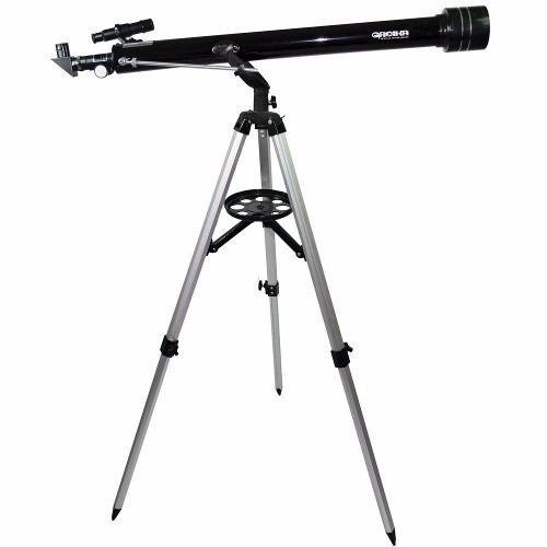 Telescópio Azimutal Greika Com Tripé E Acessórios 900x60mm - Tele-90060