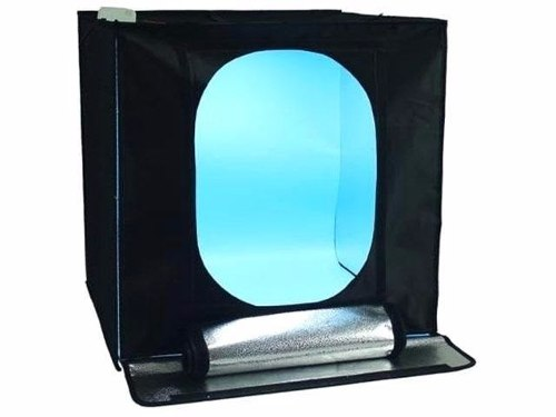 TENDA DE ILUMINACAO COM ILUMINADORES INTERNOS DE LED-DIMS 60X60CM - LT-LED60
