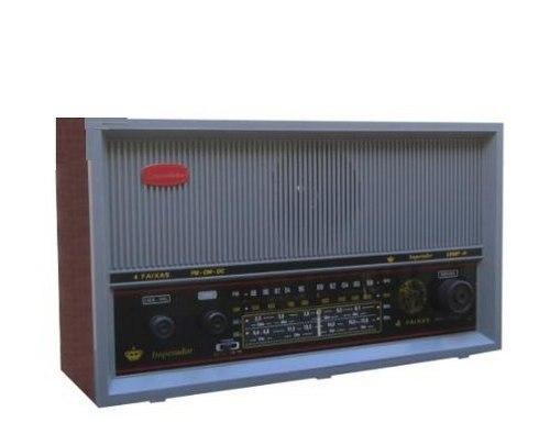 Rádio Imperador 4 Faixas Cinza CRMIF 41-C