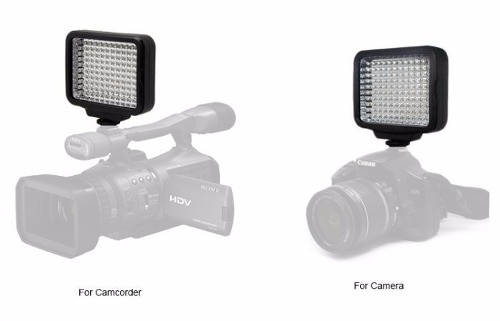 Kit Iluminador Professional Video Light Com Bateria E Carregador - LED-5009