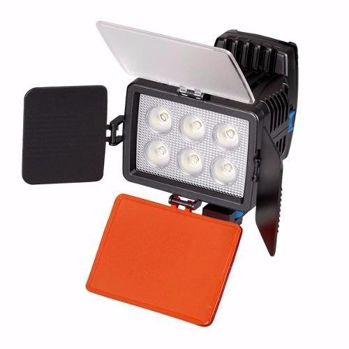 Iluminador Led Recarregável Para Câmera Nikon Canon Sony - Led-5010A