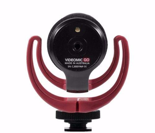 Microfone Direcional Para Câmeras Nikon Canon Sony - Videomic Go
