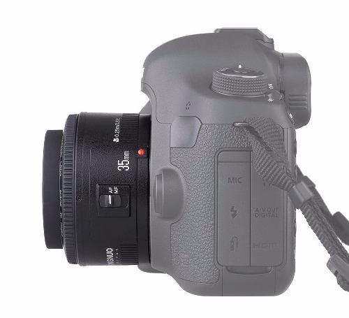 Lente Yongnuo Ângular 35mm - Yn35mm