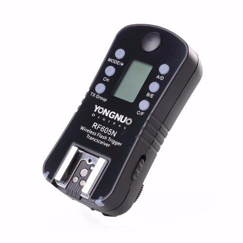 Kit Com 2 Radio Flash Yongnuo Nikon -  Rf605n