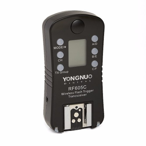 Kit Com 2 Radio Flash Yongnuo Canon - Rf605c