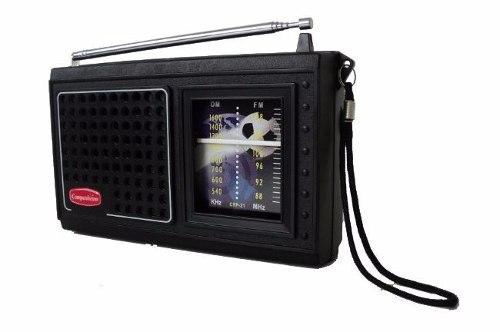Radio Companheiro Portátil  Am E Fm CRP31P