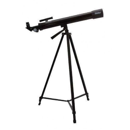 Telescópio Com Ampliação 150x ; Ocular,  Manopla e Tripé - VIVTEL150X