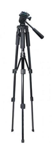 Tripé para câmera fotográfica com ajuste de altura até 1,45 m - VIVVPT2457