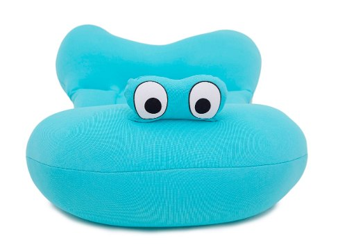 Almofada Para Banho Do Bebê Baby Pil Azul - AB004