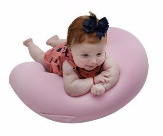 Almofada Para Amamentação Baby Pil - Milky Baby Rosa