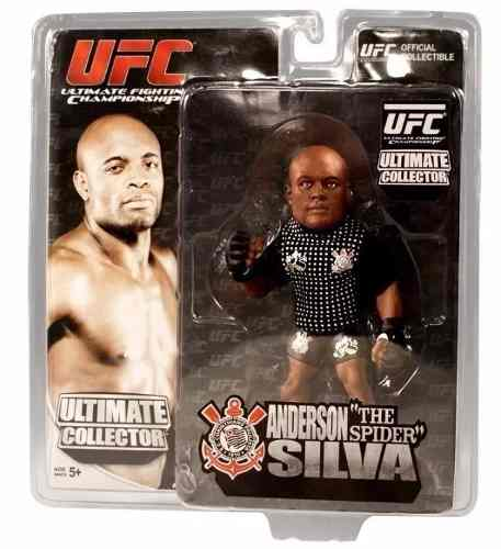 Boneco Action Figure  UFC Ultimate Fighting Championship - Anderson Silva The Spider Camiseta Corinthians