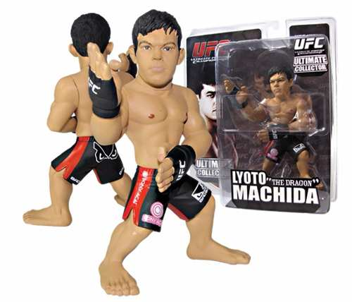 Boneco Action Figure UFC Ultimate Fighting Championship - Lyoto The Dragon Machida