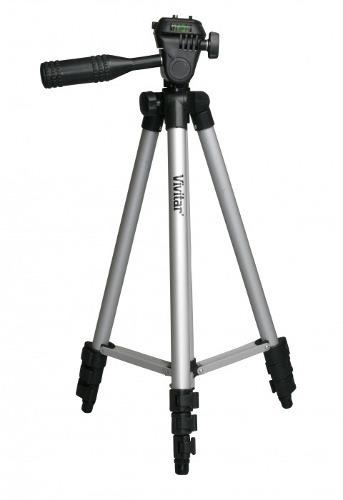 Tripé Base Vivitar Para Câmera Ou Filmadora 1,27 Metro - VIV-VPT-1250