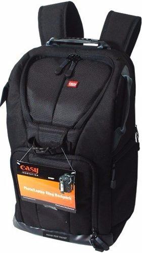 Mochila Easy Original Para Câmera Fotografica Digital - EC-8805 Preta