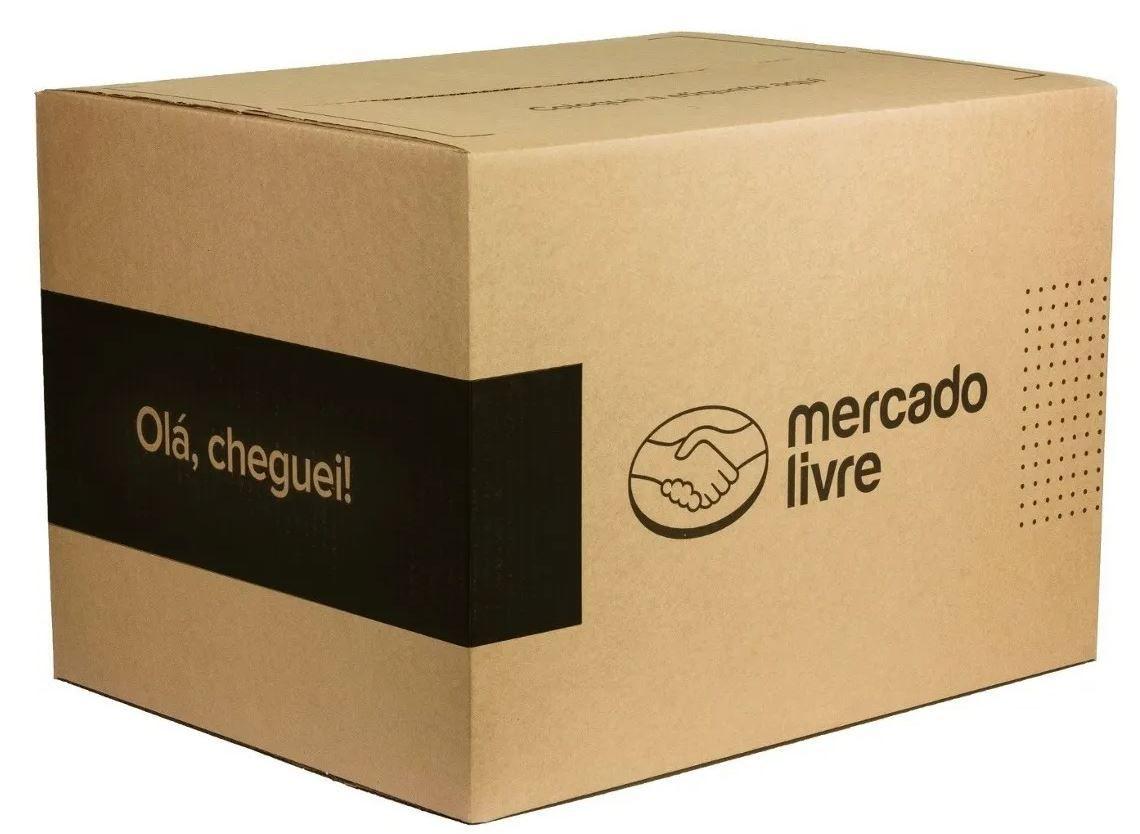 50 Caixa de Papelão Tamanho G Mercado Envios 478x365x328 - Caixa G