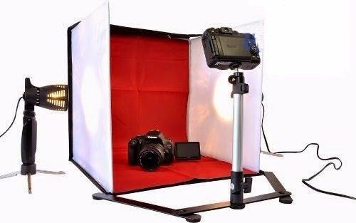 Mini Estúdio Fotográfico Tenda Portátil 40x40cm - PB-04 110v