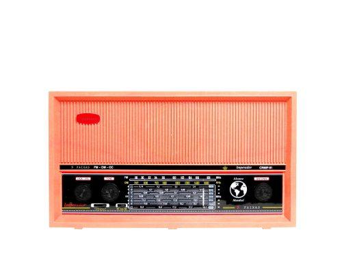 Radio de Mesa Imperador Salmão 6 Faixas Ondas Curtas - CRMIF61S