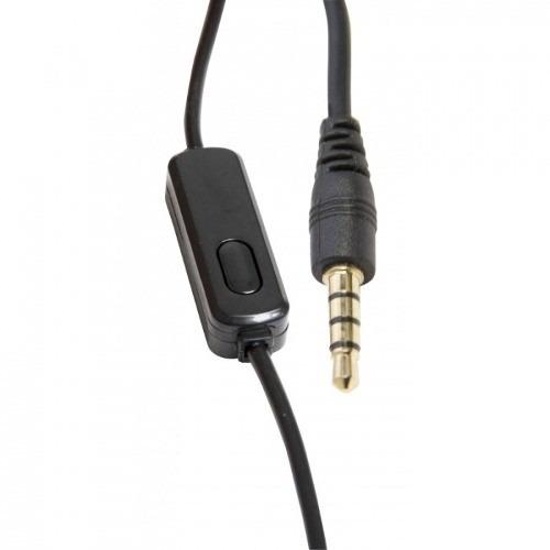 Fone De Ouvido Vivitar Original Headphone Com Microfone - V12109-raven