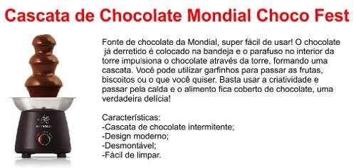 Fonte De Chocolate Mondial