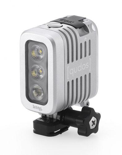Led Knog Qudos Para Câmeras De Ação GoPro Sony Action DSLR PRATA - 11626s