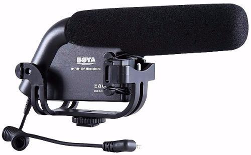 Microfone Boya Profissional Condensador Direcional Para Câmeras BY-VM190