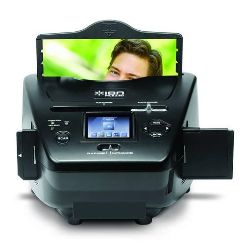 Scanner Digitalizador Slide Filme Foto Pc Sd Usb - Ion Pics2sd