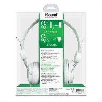 Fone De Ouvido Isound Headphone Com Microfone - Dghp5505